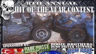 2016 Hit of the Year Contest, Top Ten Entries