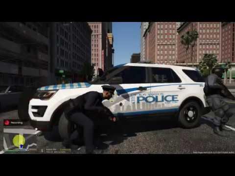 GTA 5 LSPDFR Los Santos Police Dept - City Patrol