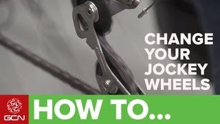 How To Change Your Jockey Wheels