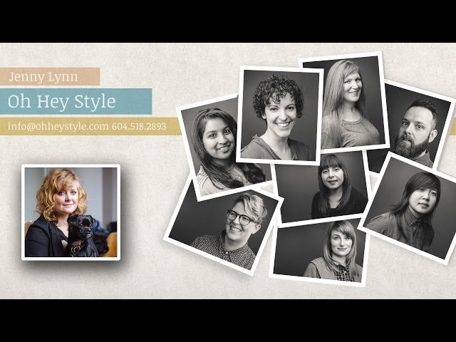 Oh Hey Style - Vancouver Hairstylist Jenny Lynn