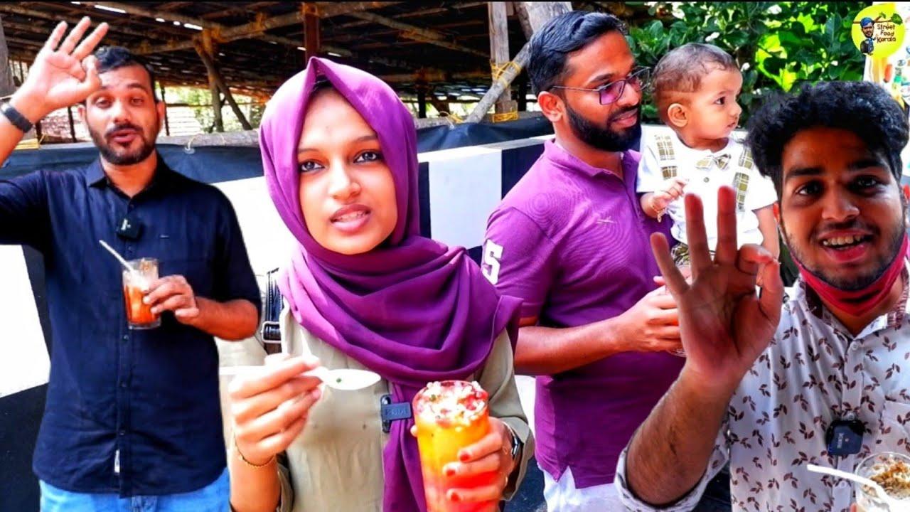 49 variety cool drinks calicut avil milk kulukki sarbath rainbow sarbath street food kerala