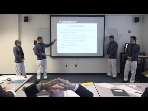 2016 Military Ethics Case Competition - VMI on Bacha Bazi