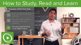 Medical School: How to study, read and learn – Medical School Survival Guide | Lecturio