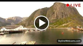Live Webcam from Reine in the Lofoten Islands - Norway