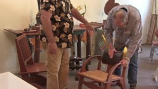 Garry Knox Bennett - Clever Bending Chair Back Concept