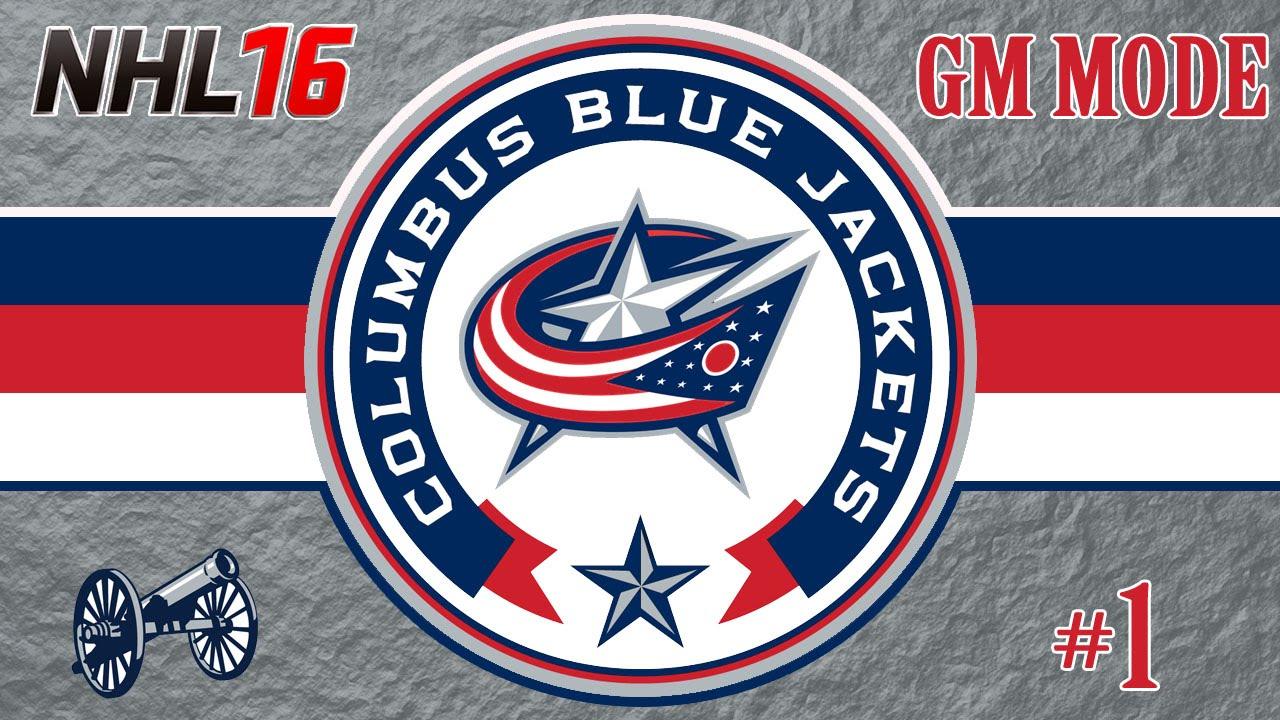 NHL 16: Columbus Blue Jackets GM Mode 1 | Must Lose For Matthews