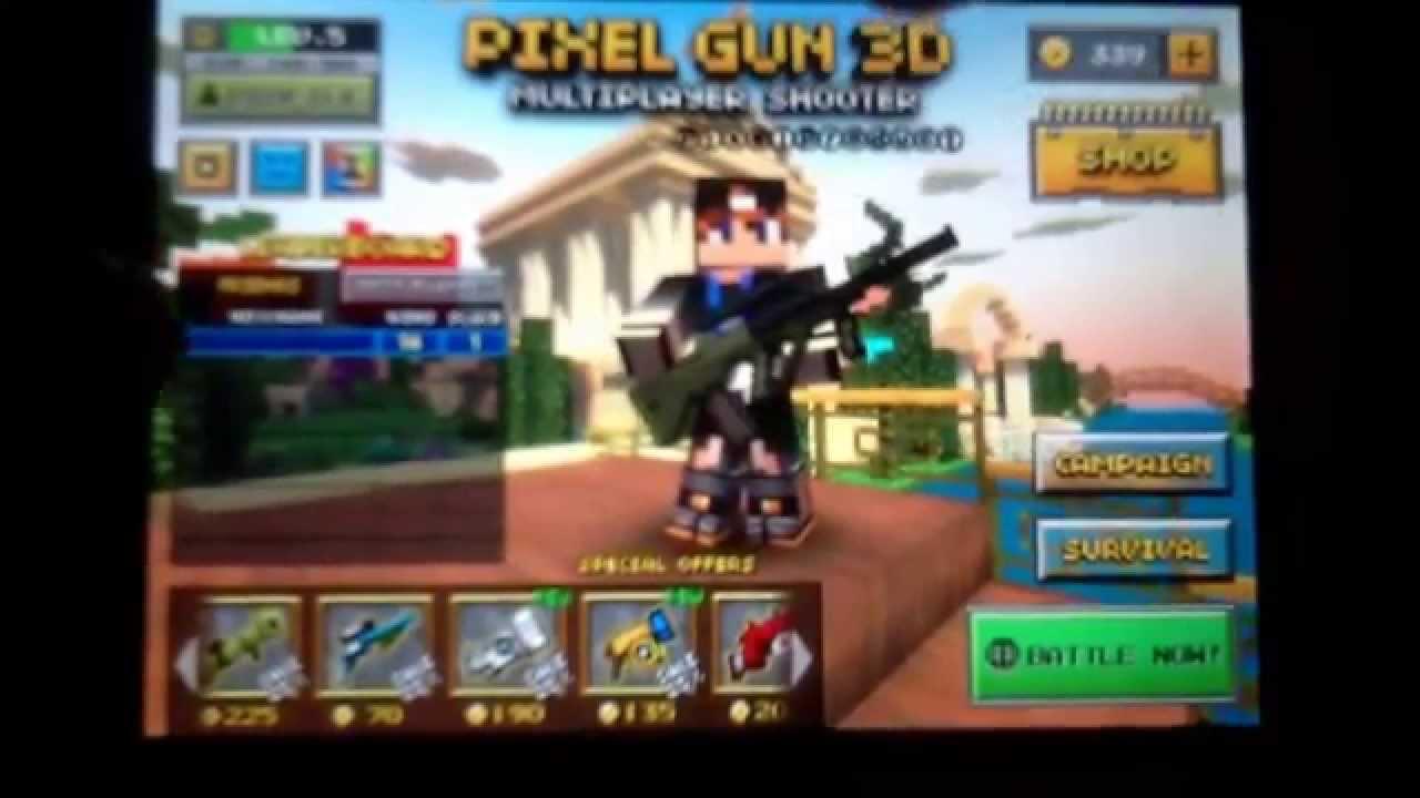 <b>Pixel gun 3D</b> color <b>codes</b> - YouTube