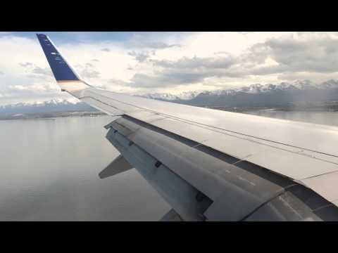 Landing in Anchorage International