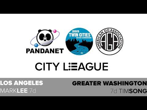 2015 USGC: Pandanet City League Finals - Greater Washington vs Los Angeles