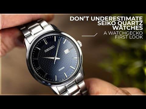 Don't Underestimate The Cheaper Seiko Quartz Watches | The Seiko 6N42-00G0 Blue Dial Quartz