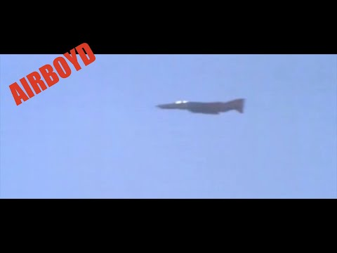 McDonnell Douglas QF-4 Drone Dual Intercept MEADS Test