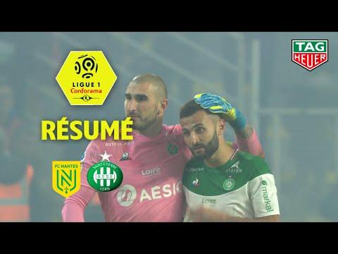 FC Nantes - AS Saint-Etienne ( 2-3 ) - Résumé - (FCN - ASSE) / 2019-20