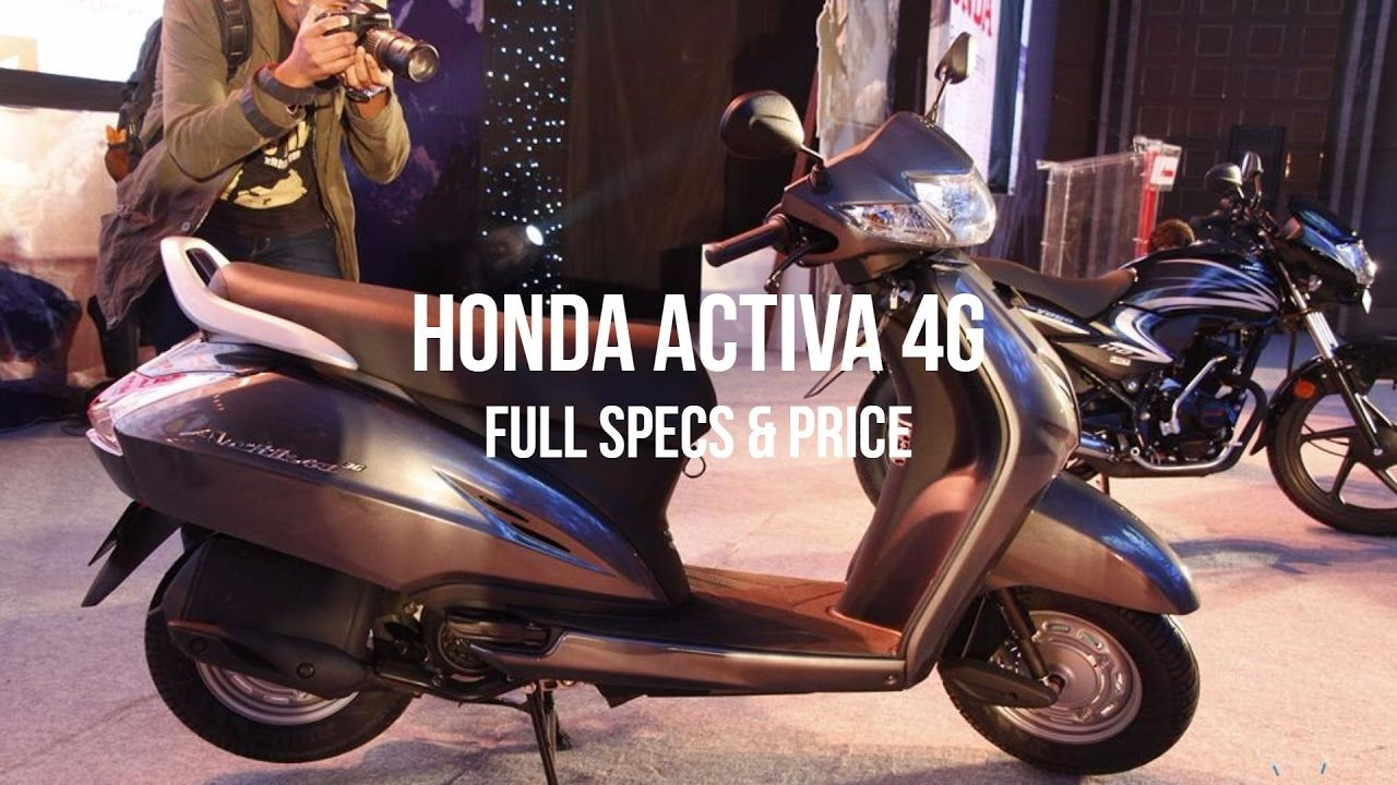 Honda Activa 4G || Price || Specifications || Full Review