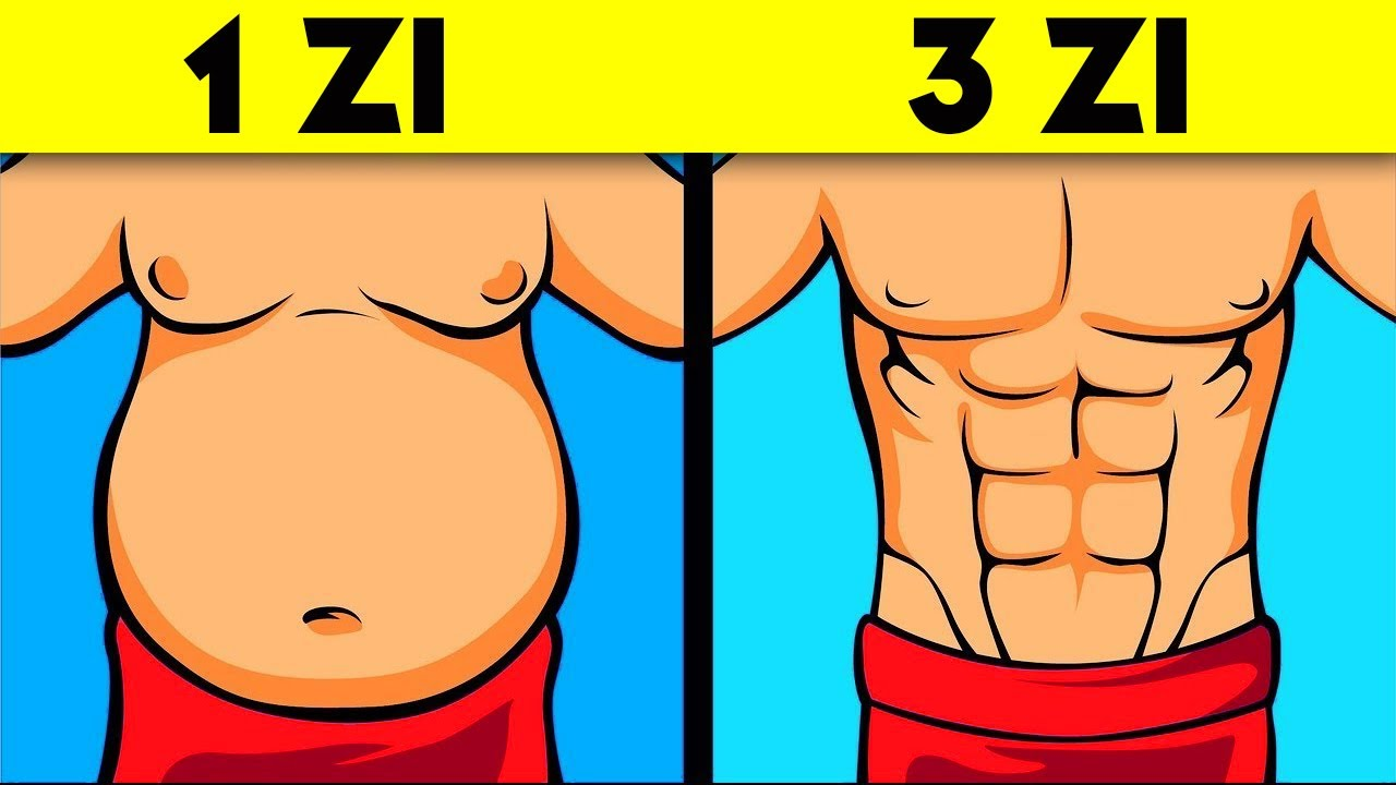 pierde burta gras 6 zile)