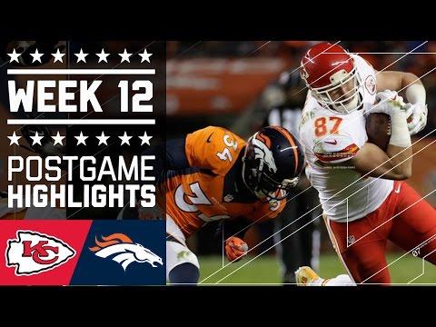 #5 Chiefs vs. Broncos | NFL Week 12 Game Highlights