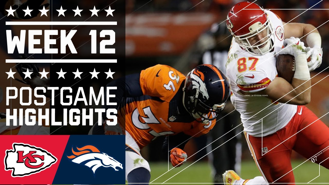 ea9bb532 Chiefs vs. Broncos | NFL Week 12 Game Highlights