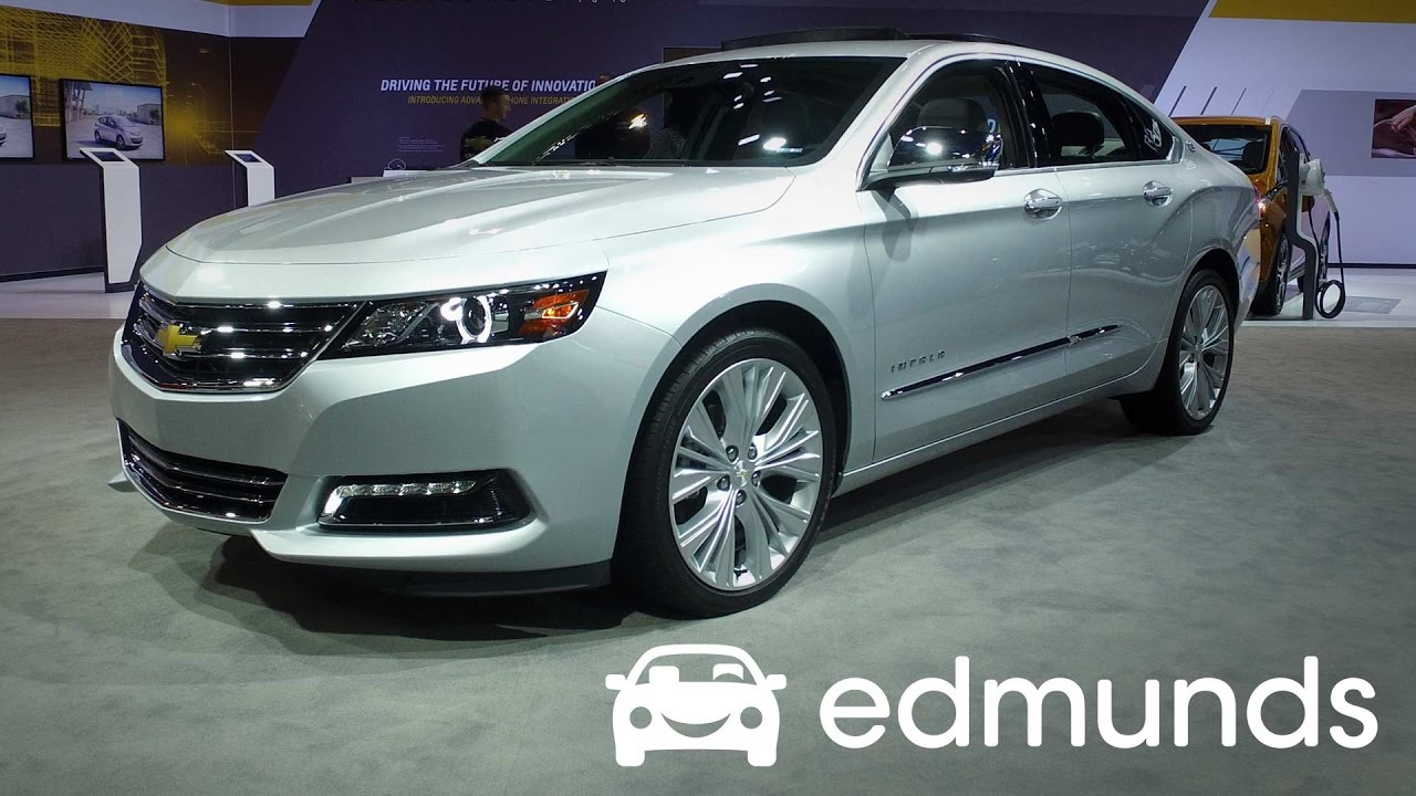 2017 Chevrolet Impala Review Featues Rundown Edmunds
