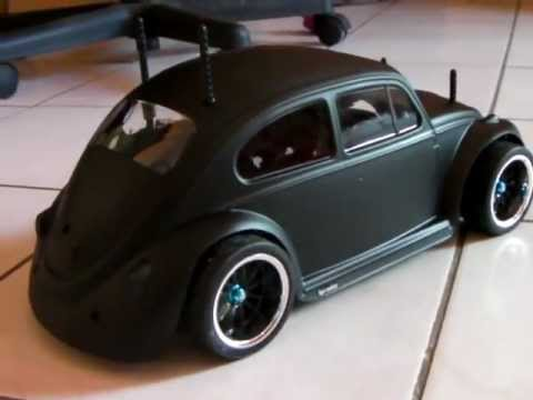 Rc Tamiya Volkswagen L Vw Cox Beetle Tuned Like Hot Rod