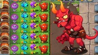 Plants vs Zombies 3 ONLINE Zombie Satan: Team Plants vs Zomboss Fight!