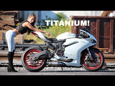 Episode 10 - Insane Custom Titanium Panigale Exhaust!!!!