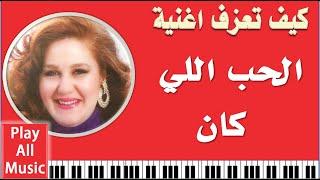 119- تعليم عزف اغنية كان ياما كان - مياده الحناوي - الجزء الأول
