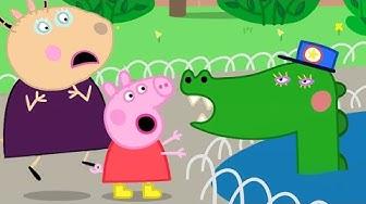 Peppa Wutz Trifft Wilde Tiere im Zoo 🐊 Cartoons für Kinder | Peppa Wutz Neue Folgen