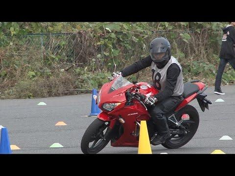 2016 11 6 Try Gymkhana N 18 選手 CBR250R h 2 × 0.5 × 2