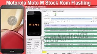 Motorola Moto M [XT1663] Stock Rom Flashing
