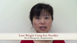 Lose Weight using Ear Needles