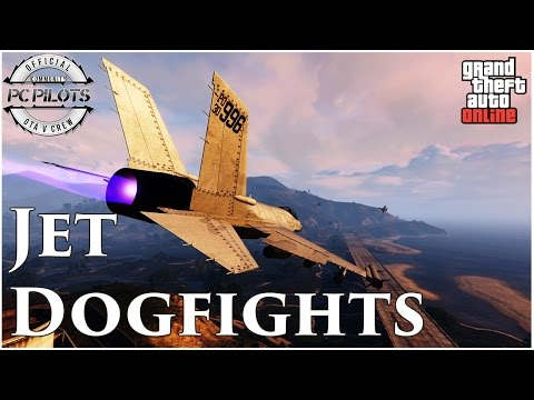 GTA V PC | Jet Dogfight Montage 2 | By Tonihm96