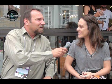 Câmera Mundi - Entrevista com Gabriela Duarte no Festival de Teatro de Curitiba 2015