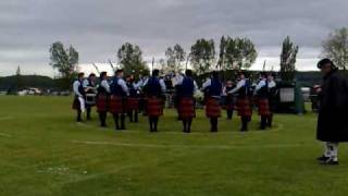 University of Bedfordshire pipe band - Scottish Championships 09