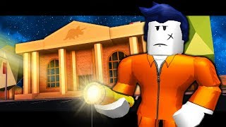 THE LAST GUEST EXPLORES THE MUSEUM! ( A Roblox Jailbreak Story)