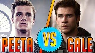 Peeta vs. Gale   Hunger Games   Mockingjay Part 1