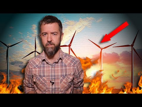The Truth About Wind Turbine Blades And The RENEWABLE GREEN ENERGY MYTH!!!