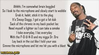 Snoop Doggy Dogg - Tha Shiznit (Lyrics)