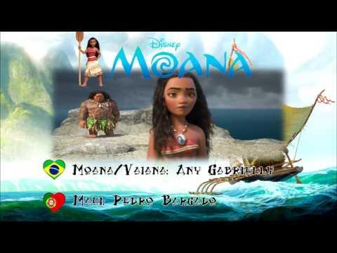 Portuguese Mix: Brazilian Moana + Portuguese Maui   Escalada para Lalotai (Climbing to Lalotai)