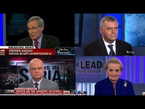 The Military Industrial Pundits: Conflicts of Interest Exposed for TV Guests Who Urged Syrian War