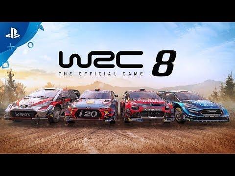 WRC 8 - Launch Trailer   PS4