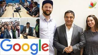 Kamal Haasan visits Google office