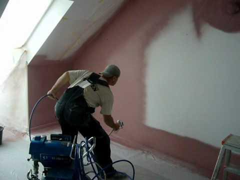 Malowanie natryskowe agregatem hydrodynamicznym