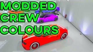 GTA 5 Paint Jobs - RARE PAINT JOBS ONLINE! Modded RGB Crew Colour/Paint Jobs (GTA 5 Paint Jobs)