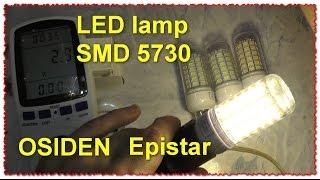 OSIDEN Светодиодные Лампы E14 SMD 5730 Epistar Кукуруза. Посылка. Тест(, 2016-10-25T07:00:30.000Z)