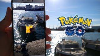 DOBLE PIKACHU SHINY ESPECIAL CON SURF DURANTE EL EVENTO! [Pokémon GO-davidpetit]