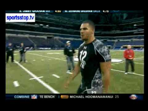 Missouri State's Clay Harbor-NFL Combine