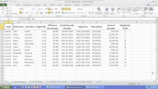 How to Move Quickly within a Worksheet | Microsoft Excel