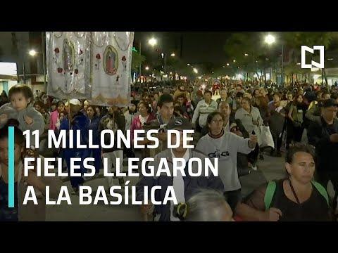 Continúan llegando peregrinos a la Basílica de Guadalupe - En Punto