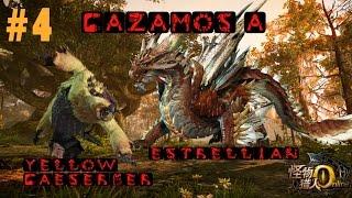 Monster Hunter Online Gameplay Español - #4 Cazamos a YELLOW CAESERBER Y ESTRELLIAN