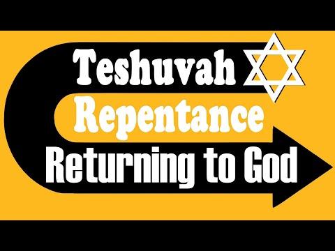 TESHUVA - REPENTENCE: RETURNING TO GOD – Rabbi Michael Skobac – Jews for Judaism