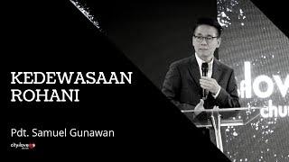 Cover images Pdt. Samuel Gunawan - Kedewasaan Rohani